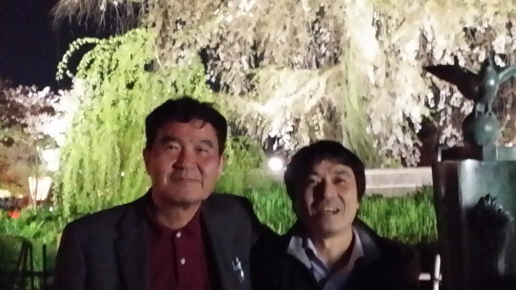 京都技術士会の新年会後の写真