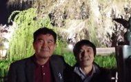 京都技術士会の新年会(花見)